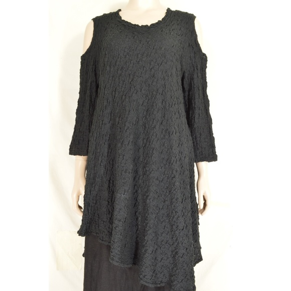 Design Today's Dresses & Skirts - Design Today's dress tunic S black long sleeve